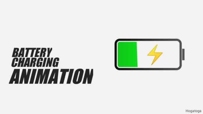 Battery Charging Animation Screen