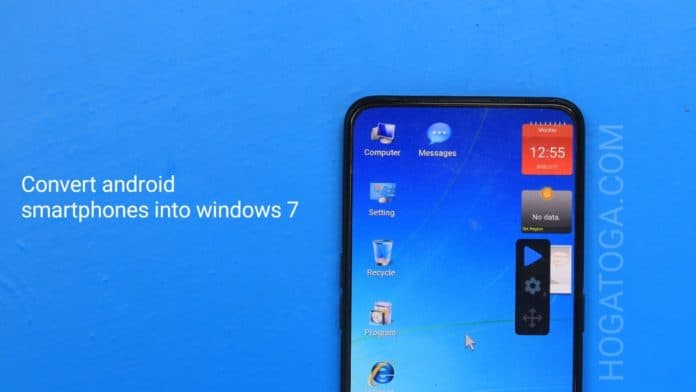 convert Android smartphones into Windows7