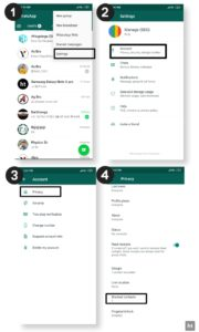 Whatsapp Block Number features
