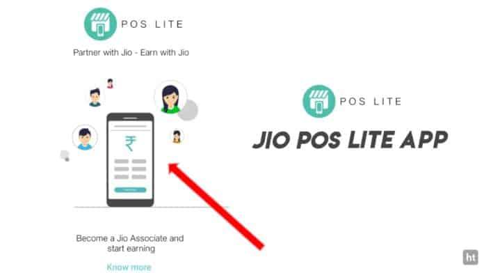 Jio POS lite app