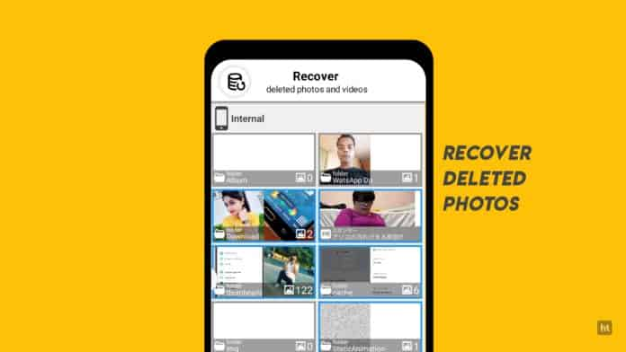 Restore your deleted images