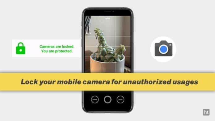 Camera lock app