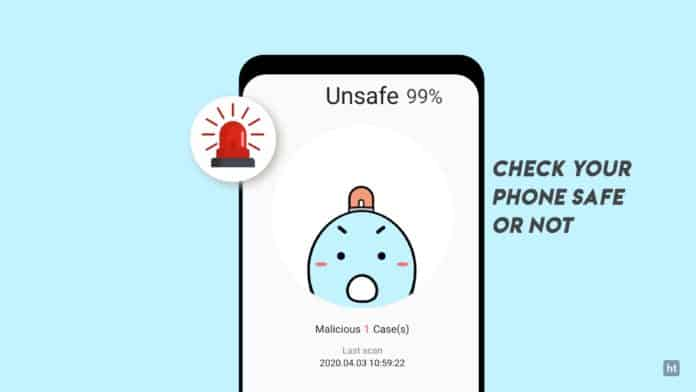 secure phone with antivirus