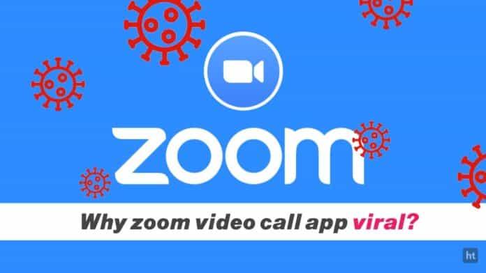 zoom video call app