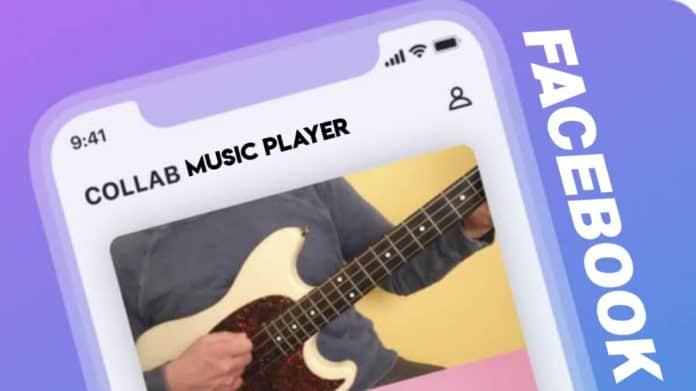 Facebook collab music app