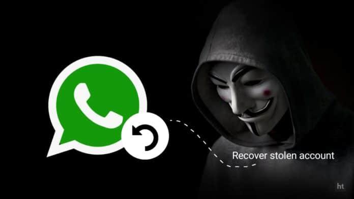 Recover WhatsApp stolen account
