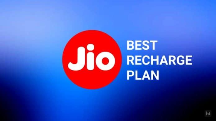 Reliance Jio best prepaid recharge
