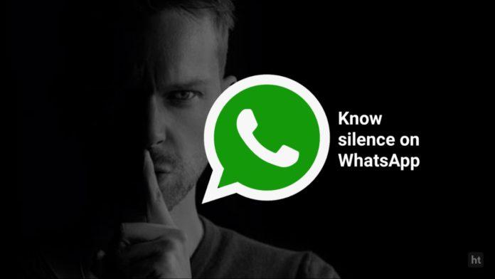 WhatsApp mute