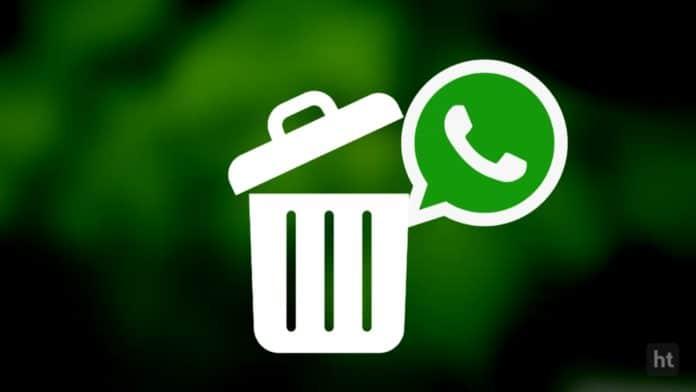 Clear the WhatsApp data