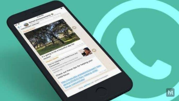 WhatsApp new iPhone chat update
