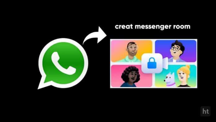 create messenger room on WhatsApp