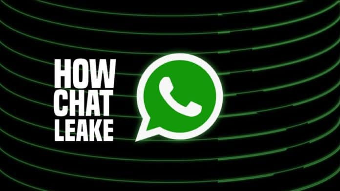 How WhatsApp chat leaked