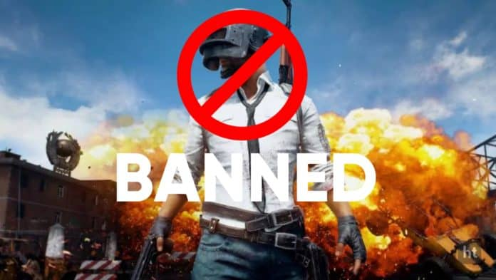 PUBG and other apps ban