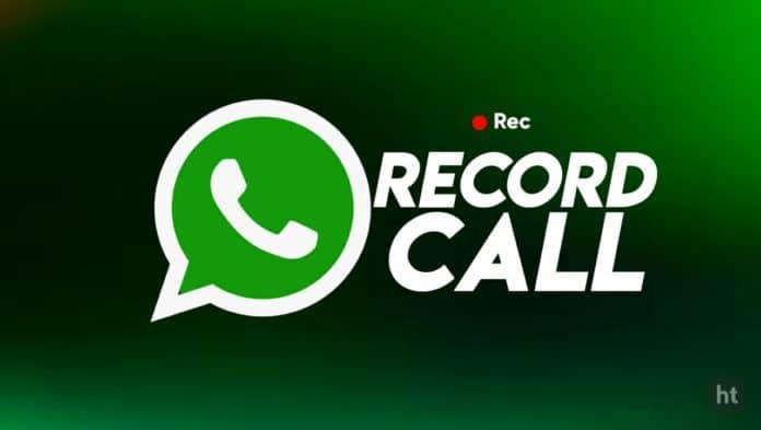 WhatsApp Call Record App