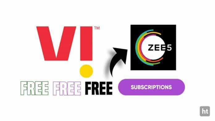 Get Zee5 subscription via VI