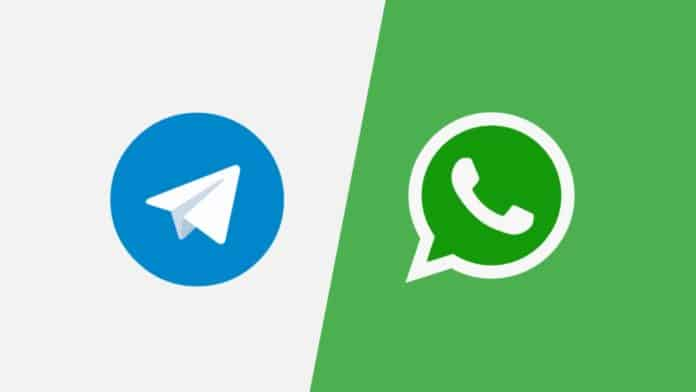 Know which WhatsApp contact has telegram