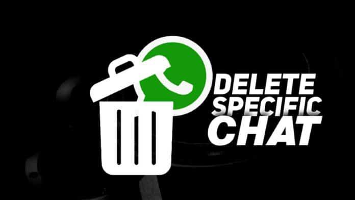 Delete specific chat media files