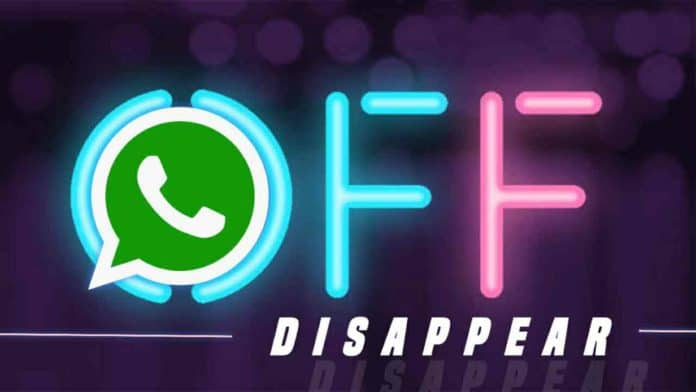 Disable WhatsApp Disappearing messages