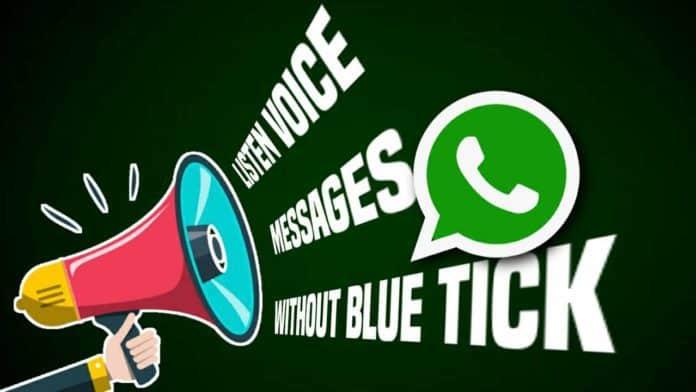 WhatsApp voice notes