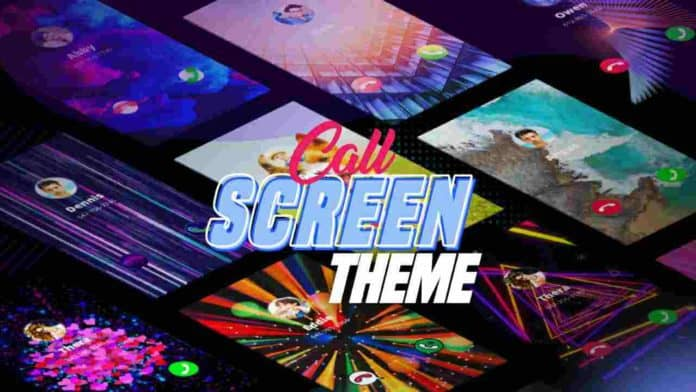 Call Screen color themes