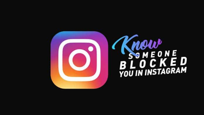 Know if someone blocked you on Instagram