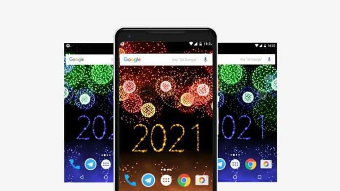 New Year 2021 Fireworks app