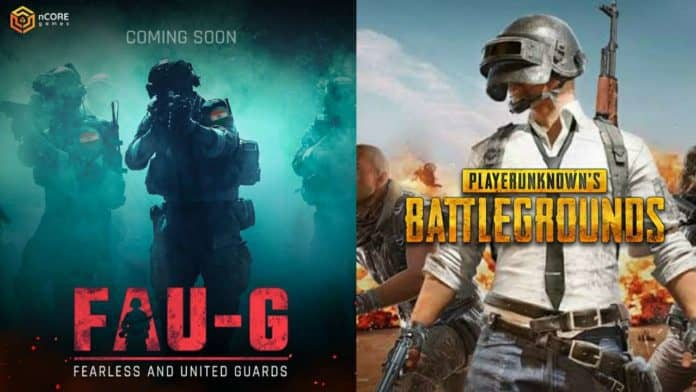 PUBG and FAU-G launch date