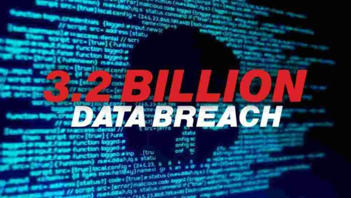 3.2 Billion email and password leaked