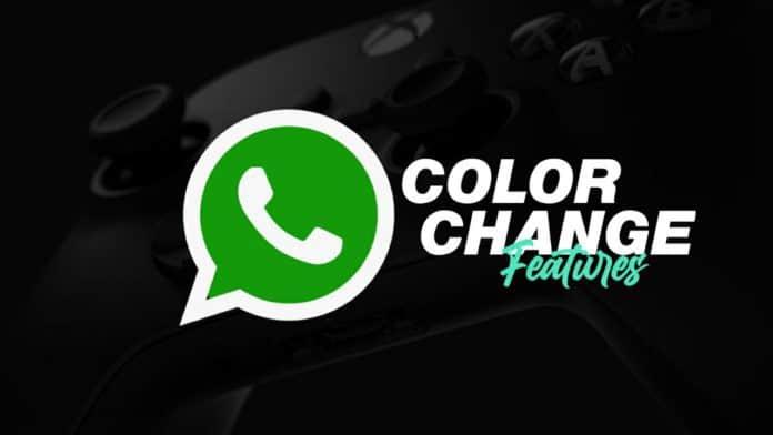 WhatsApp working on colors change