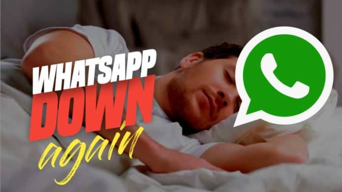 WhatsApp Facebook and Instagram went down again