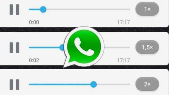 WhatsApp Voice Playback Speed
