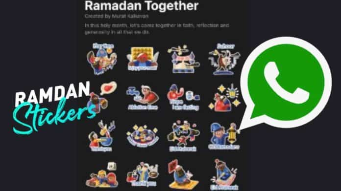 WhatsApp new Ramadan Together sticker