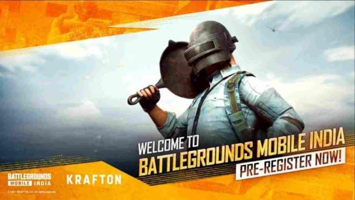 Battlegrounds Mobile pre-registration