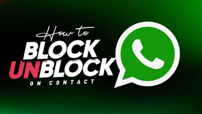 Block and Unblock users on WhatsApp
