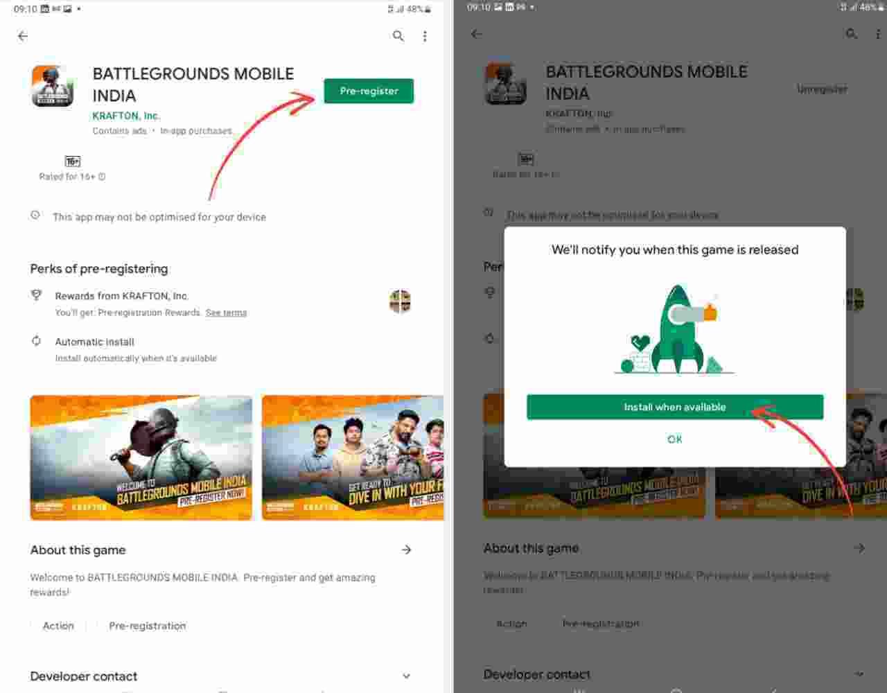 battlegrounds mobile india pre-register
