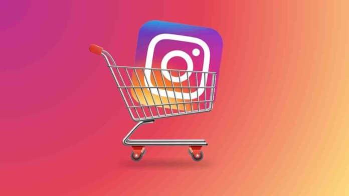 Instagram shop product feature