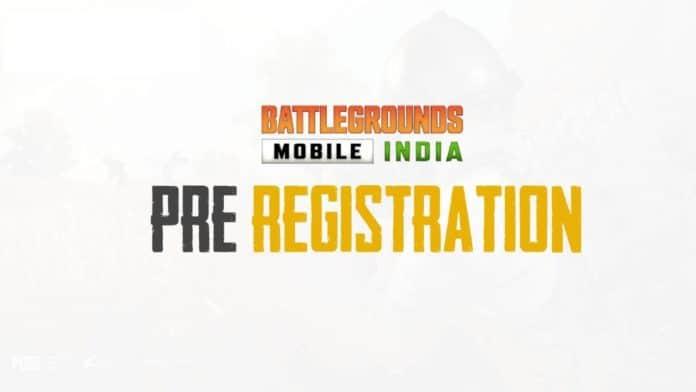 PUBG Battlegrounds Mobile Pre-registration