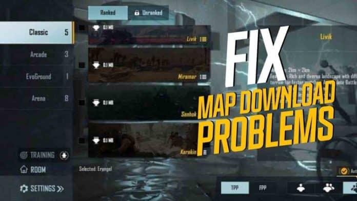 Battlegrounds Mobile Map problem