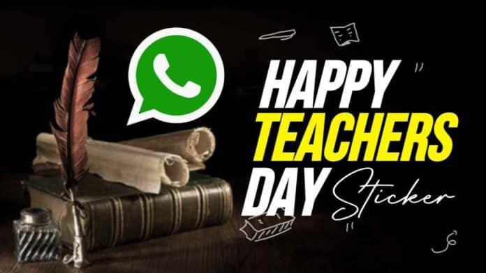 Happy Teachers Day stickers