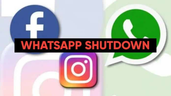 Facebook Instagram and WhatsApp outage again